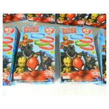 8 New Boxes of Marvel Candy Gummy Bands