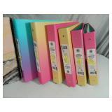 New Cardstock, Notebooks, Binders