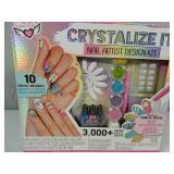 New 3,000 Plus Piece Nail Art Design Kit