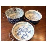 Set of Three Ovenware Bowls by Temptations