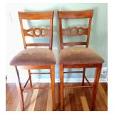 Pair Of Counter Height Chairs