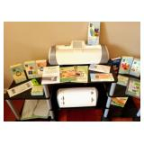 "Pair Of ""Cricut"" Die Cutting Machines And Cartridges"