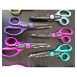 Variety Of Crafting Scissors