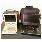 Two Traveling Dvd Players