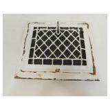 Vintage White Heat Register Grate
