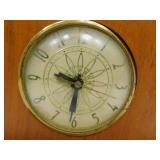 Vintage Wood Framed Clock
