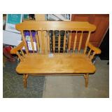 Decorative Wood Bench