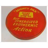 Vintage Sanfax Metal Chemical Can