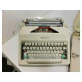 Vintage Olympia Typewriter with Original Case