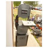 Porter Cable bandsaw. Nearly new. Has minor scratches. No blade or miter included. As shown.