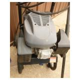 Gas pressure washer. Aprrox 2200 psi. Used condition. Motor runs but unable to fully test. Includes wand & hose. As shown.