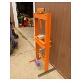 New shop press frame. Needs to be assembled. No jack. As shown.