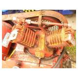 110 volt air compressor. Needs a little tlc. Tested & works. As shown.