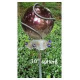 Copper Garden Gazing Ball