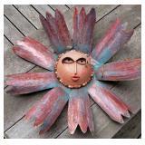 Metal Sunflower Garden Decoration