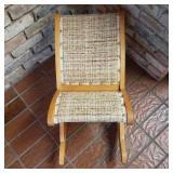 Vintage Rocking Footrest