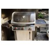 Weber Spirit Gas Grill with Searing Station and Cover