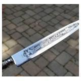INOX. Gaucha Parrying Dagger with Sheath