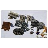 Sterling and Vintage Cufflink Collection