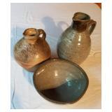 Ceramic Jugs and Bowl