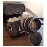 Nikon Nikkormat 35mm SLR Camera with 50mm Nikon Lens