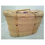 Large Decorative Wicker Basket