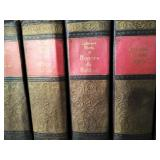 Set of 12 Giant International Series Hardbound Leather Book Collection