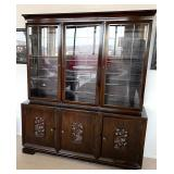 Asian Inspired Beautiful Display Cabinet