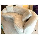Luxurious Curved Sofa by Directional