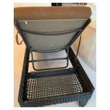 Sunbrella Woven Chaise Lounger w/Wheels