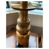 Gold Tone Ornate Beautiful Table Lamp