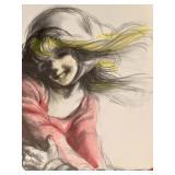 Signed Art by Virginia Dan (1922-2014)