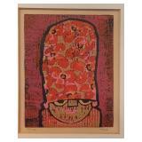 Original Woodcut by Al Robi (1922-2007)