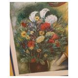 Signed Art by Reuven Rubin (1893-1974)