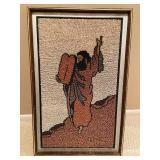Unique Wall Art; Picture of Moses