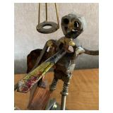 """Metal Sculpture; """"The Attorney"""" by Romano"""