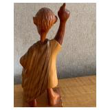 Wood Caricature Carving by Romano