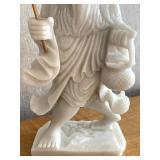 Quartz Carved Asian Figurine