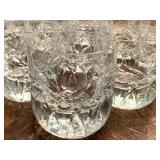 BLOCK Crystal Cocktail Double Old Fashioned  Crystal Rainbow Glass +