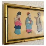 Framed Asian Inspired Art