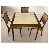 Leg-O-Matic Co Folding Table and Chairs Set