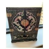 Vintage Jewelry Box- Mother of Pearl Design