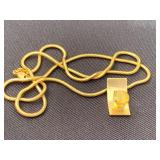 Robert C. Trisko 14k Pendant and Chain