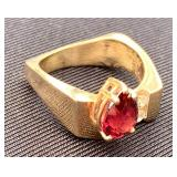 14k Robert  C Trisko Ring