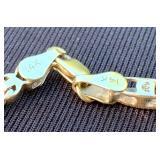 14K Baguette Diamond Tennis Bracelet