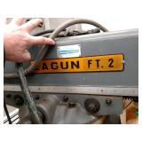 """Lagun FT2 Vertical Knee Mill, 9""""x42..."""