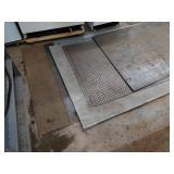 Assorted Steel Sheets on The Floor...