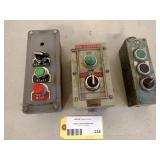 (3) Control Boxes...