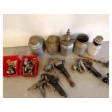 Paint Pot, Guns, & Supplies...