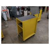 Steel Cart, 32x22 with Assorted Saw...